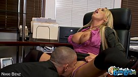 Big assed Nikki Benz...