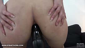 Mature anal fucked by black cock doggystyle and rides him cowgirl