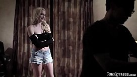 Blonde teen lured into...