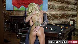 Hot blonde Pool slut...