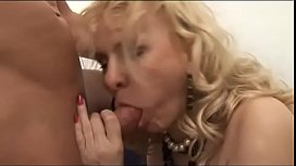 Mature blonde needs a...