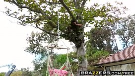 Brazzers - Shes Gonna Squirt - Sneaking into the Squirters Yard scene starring Casey Calvert and Dan