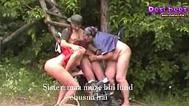 Incetz family fuck outdoor-hindi subtitles-https://desibees.xyz
