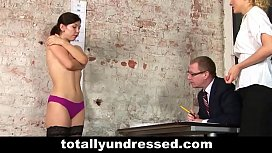 Naked job interview...