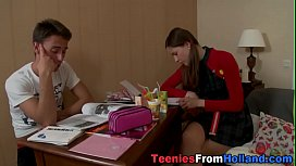Hot dutch teen creampied...