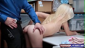 Cute Blonde Teen Riley...