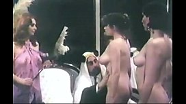 Arab sultan selecting harem...