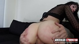 Goth Charlotte Double Anal...