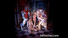 Freak Monsters Bang 3D...