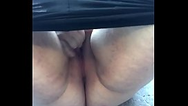 Public masturbation on a hike in the mountains