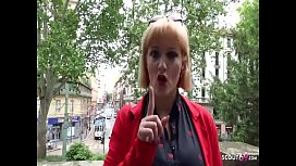 German Scout Big Tit Milf Mary Fuck At Real Street Casting