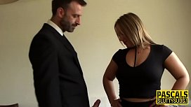 Submissive milf pounded...