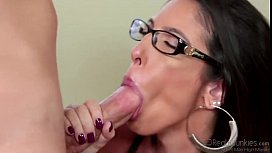 Young milf getting banged...