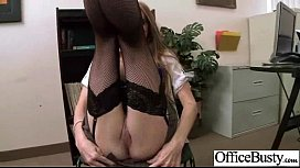 Sex Tape With Slut Office Wild Busty Girl clip-29