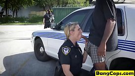 Milf cops sharing big...