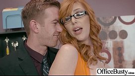 (Lauren Phillips) Girl With Round Big Tits In Hard Style Sex In Office clip-13 sex image