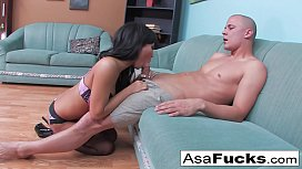 Asa Gets Pounded...