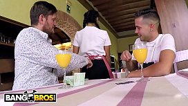 BANGBROS - Hot Young Waitress...