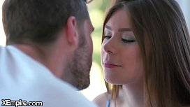 XEmpire - Inexperienced Teen Learns How To Kiss