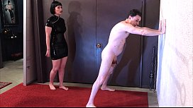 Ballbusting Miss Snow Mercy Destroys The Balls Of Andrea Dipr
