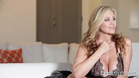 Julia Ann loves black monster cock at DarkX