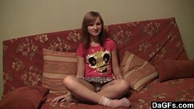 Slutty teen delighted by...