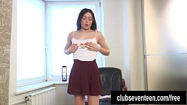 Perky titted teen Lou...