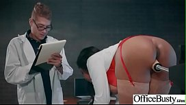 Hard Sex In Office With Naughty Hot Bigtits Girl (Jenna J Foxx) mov-12