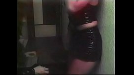 MILF babes have a romantic dinner then fuck good with green sex toy