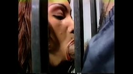 Black couple Weed and Spontaneus gets really naughty in a prison cell