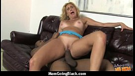 Monster black cock bangs my moms white pussy 20