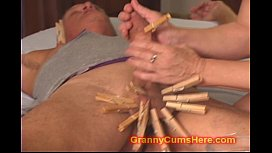 MEAN Granny turns him...