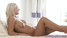 Petite babe fucked after...