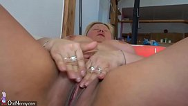 OldNanny Old fat mature with toy, lesbian games.720p -More on LESBIAN-SEX.ML