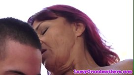 Bigtit mature lady banged by young man