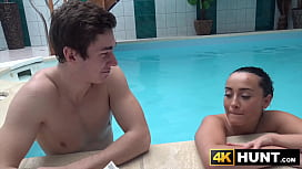 Handsome young babe fucked...