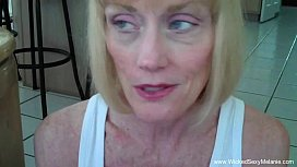 Son Convinces Mom To Creampie xnxx image