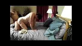 Cuckold  watches wife with young BBC and cleans creampie