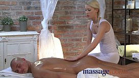 Massage Rooms Young blonde...