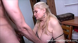 Blowjob and titjob with a mature expert like Musa Libertina