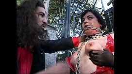 Hot girl tied up...
