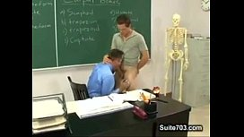 Dominant Student Turn His...
