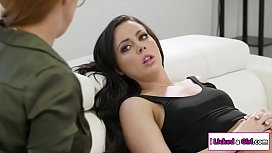 Sex therapist licked by...
