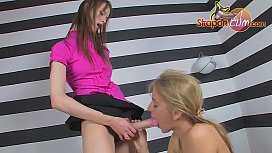 Teen Blonde and Lesbians...