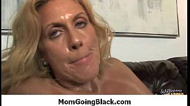 Hot horny MILF cant get enough black cock 1