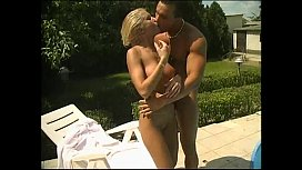 Skinny blonde fucked by...