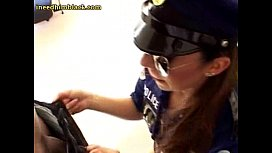 Teen Officer And Her...