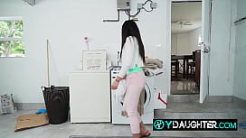 Doing laundry can always turn into some steamy action with daddy's friend xvideos preview