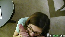 Cute Hipster teen With...