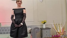 Classy milf gets oral and fingers